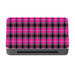 Cell Background Pink Surface Memory Card Reader with CF
