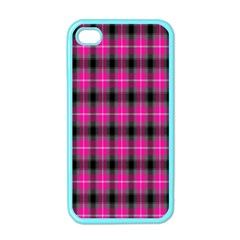 Cell Background Pink Surface Apple iPhone 4 Case (Color)