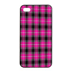 Cell Background Pink Surface Apple Iphone 4/4s Seamless Case (black)