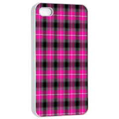 Cell Background Pink Surface Apple iPhone 4/4s Seamless Case (White)