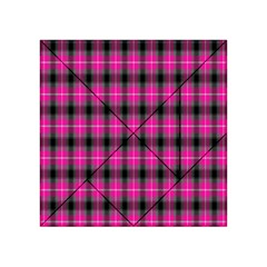 Cell Background Pink Surface Acrylic Tangram Puzzle (4  x 4 )