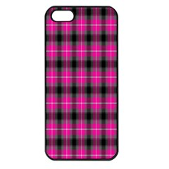 Cell Background Pink Surface Apple Iphone 5 Seamless Case (black)