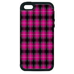 Cell Background Pink Surface Apple Iphone 5 Hardshell Case (pc+silicone)