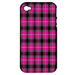 Cell Background Pink Surface Apple iPhone 4/4S Hardshell Case (PC+Silicone)