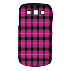 Cell Background Pink Surface Samsung Galaxy S III Classic Hardshell Case (PC+Silicone)
