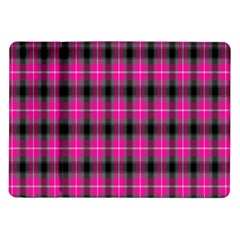 Cell Background Pink Surface Samsung Galaxy Tab 10.1  P7500 Flip Case