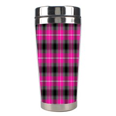 Cell Background Pink Surface Stainless Steel Travel Tumblers