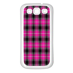Cell Background Pink Surface Samsung Galaxy S3 Back Case (White)