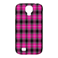 Cell Background Pink Surface Samsung Galaxy S4 Classic Hardshell Case (PC+Silicone)