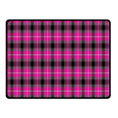 Cell Background Pink Surface Double Sided Fleece Blanket (Small)