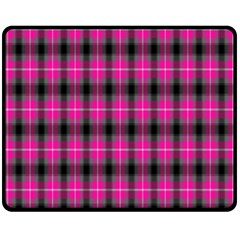 Cell Background Pink Surface Double Sided Fleece Blanket (medium)