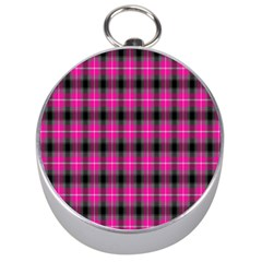 Cell Background Pink Surface Silver Compasses
