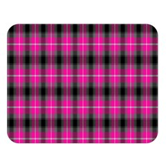 Cell Background Pink Surface Double Sided Flano Blanket (large)