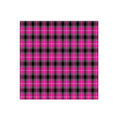 Cell Background Pink Surface Satin Bandana Scarf