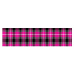 Cell Background Pink Surface Satin Scarf (Oblong)