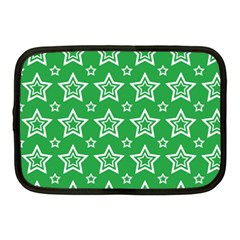 Green White Star Line Space Netbook Case (Medium)