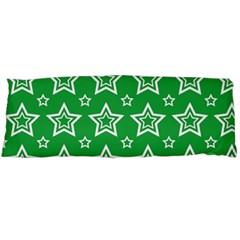 Green White Star Line Space Body Pillow Case Dakimakura (Two Sides)