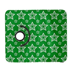 Green White Star Line Space Galaxy S3 (Flip/Folio)