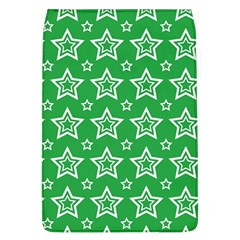 Green White Star Line Space Flap Covers (L)