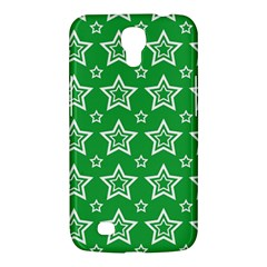 Green White Star Line Space Samsung Galaxy Mega 6.3  I9200 Hardshell Case