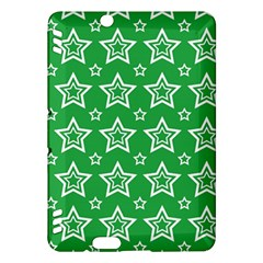 Green White Star Line Space Kindle Fire HDX Hardshell Case
