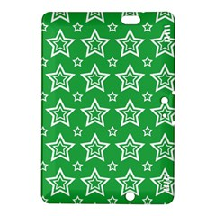 Green White Star Line Space Kindle Fire HDX 8.9  Hardshell Case