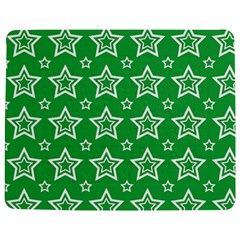 Green White Star Line Space Jigsaw Puzzle Photo Stand (Rectangular)
