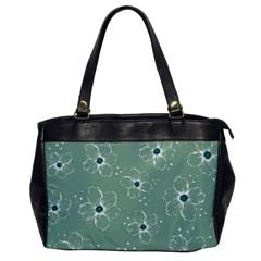 Floral Flower Rose Sunflower Grey Office Handbags