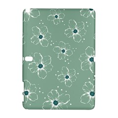 Floral Flower Rose Sunflower Grey Galaxy Note 1
