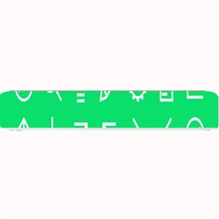 Icon Sign Green White Small Bar Mats