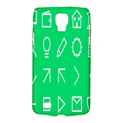 Icon Sign Green White Galaxy S4 Active