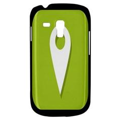 Location Icon Graphic Green White Black Galaxy S3 Mini