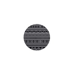 Myria Wrapping Paper Black 1  Mini Buttons