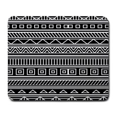 Myria Wrapping Paper Black Large Mousepads