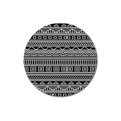 Myria Wrapping Paper Black Magnet 3  (round)