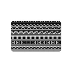 Myria Wrapping Paper Black Magnet (name Card)