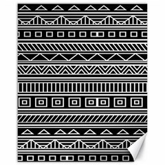 Myria Wrapping Paper Black Canvas 16  x 20