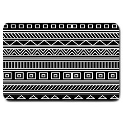 Myria Wrapping Paper Black Large Doormat