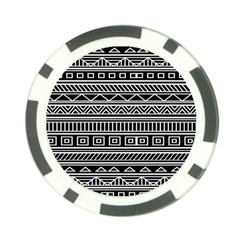 Myria Wrapping Paper Black Poker Chip Card Guard
