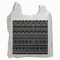 Myria Wrapping Paper Black Recycle Bag (One Side)