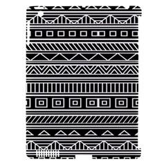 Myria Wrapping Paper Black Apple iPad 3/4 Hardshell Case (Compatible with Smart Cover)