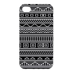 Myria Wrapping Paper Black Apple iPhone 4/4S Premium Hardshell Case