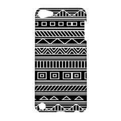Myria Wrapping Paper Black Apple iPod Touch 5 Hardshell Case
