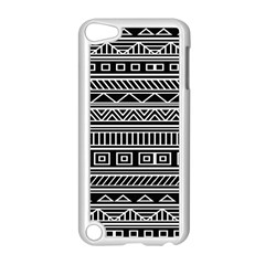 Myria Wrapping Paper Black Apple iPod Touch 5 Case (White)