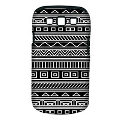 Myria Wrapping Paper Black Samsung Galaxy S III Classic Hardshell Case (PC+Silicone)