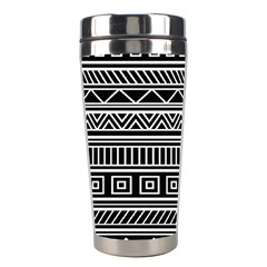 Myria Wrapping Paper Black Stainless Steel Travel Tumblers