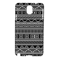 Myria Wrapping Paper Black Samsung Galaxy Note 3 N9005 Hardshell Case