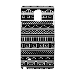 Myria Wrapping Paper Black Samsung Galaxy Note 4 Hardshell Case