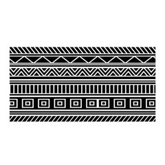 Myria Wrapping Paper Black Satin Wrap