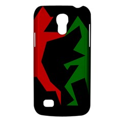 Ninja Graphics Red Green Black Galaxy S4 Mini